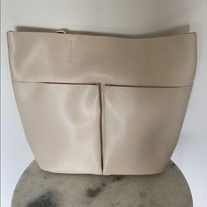 Neiman Marcus tote bag cream white
